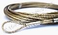Трос металлический в оболочке из ПХВ Ø 3-4мм для сетки волейбола и большого тенниса